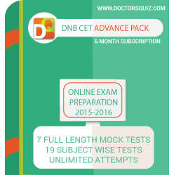 DNB CET Advance Pack